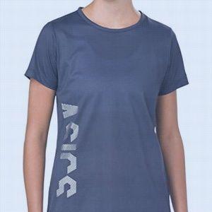 ASICS Women's Graphic Quick-Dry Short Sleeve Top